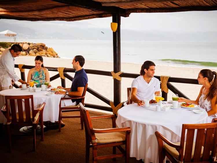 La Ribera Restaurant in Velas Vallarta Hotel, Puerto Vallarta