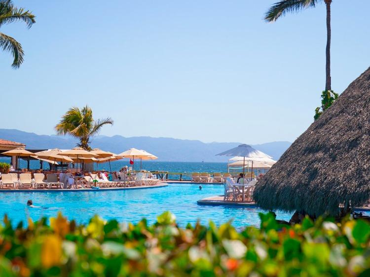 Velas Vallarta Hotel, Puerto Vallarta Aqua Bar Terrace